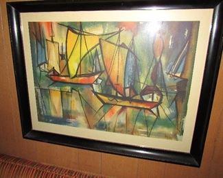 Mid Century Art