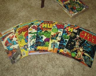 Many Silver age comics