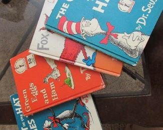 Vintage Dr. Seuss children's books