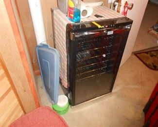 Wine cooler in the basement