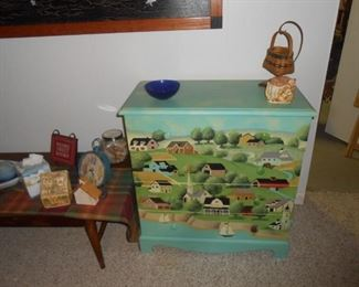Sweet painted chest of drawers