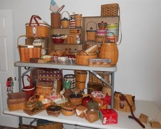 Fifty + Longaberger baskets of every size!
