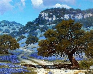 William Slaughter Texas Bluebonnets