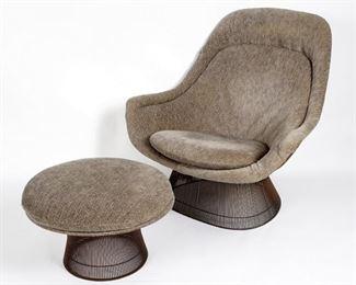 Warren Platner  Lounge Chair Ottoman