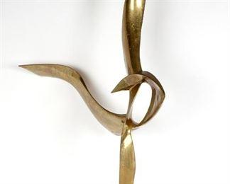 Leonardo Nierman The Bird Bronze