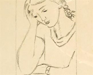 Henri Matisse Lassitude Litho