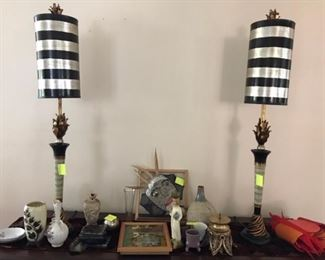 More unique lamps and knick knacks