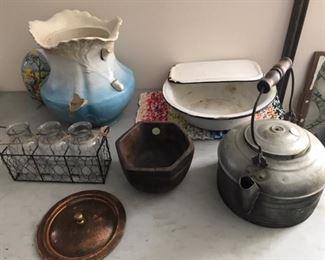 Vintage tea kettle/ vase/ etc