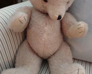 Vintage moveable joints teddy bear