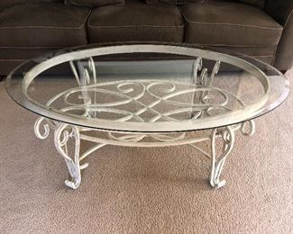 Coffee table, two ends table and sofa table.