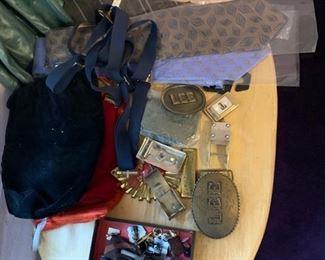 belt buckles, mens accessories, ties