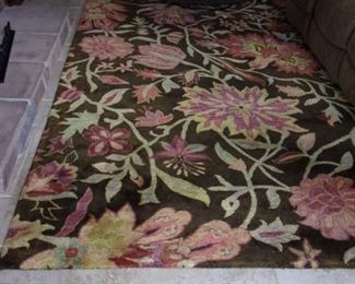 """Jaipur Collection by Nourison made in India 8'3"""" x 11' 6"""" thick plush area rug."""