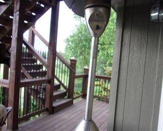 Outdoor propane patio heater