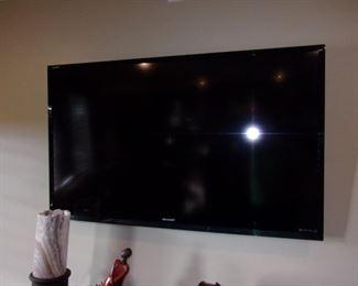 "Sharp liquid crystal 60"" television"