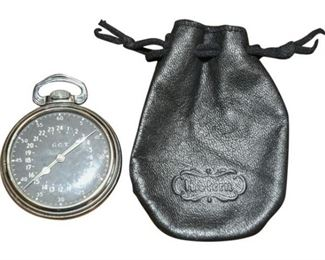 17. HAMILTON Military Pocket Watch GCT 4992b