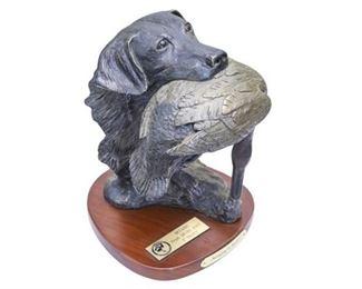 37. Bradford Williams Sculpture of a Bird Dog