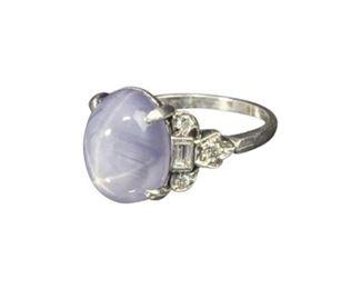 71. Purple Star Sapphire Ring