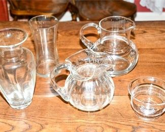 81. Group Lot of Crystal Tabletop Objects
