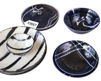 108. Assortment of Handmade Contemporary Pottery