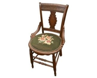 115. Antique East Lake Side Chair c.1870s