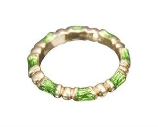 132. Fine 18K Gold TIFFANY Ring