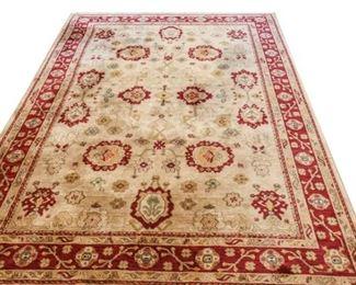 147. Large Vintage Asian Wool Area Rug