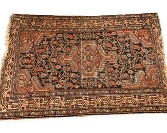 153. Antique Wool Persian Prayer Rug