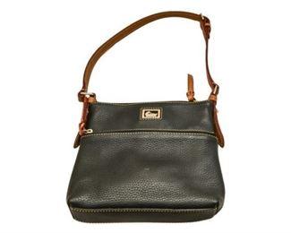 178. Womens Black DOONEY  BOURKE HandbagPurse