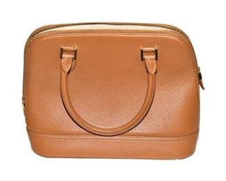 181. Small Tan Leather BROOKS BROTHERS PurseHandbag