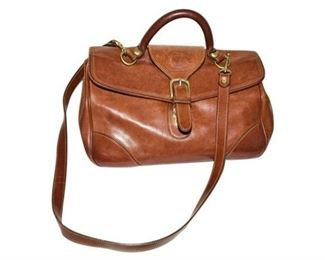 184. Fine MARLEYHODGSON Leather Traveling CaseBag