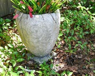 216. Concrete Garden Planter