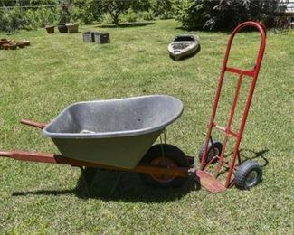 218. Two Utilitarian Garden Items