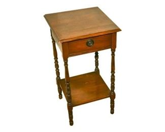 234. Maple One Drawer Stand
