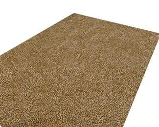 241. Area Carpet in a Full Leopard Pattern