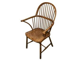 243. Vintage Bow Back Windsor Armchair