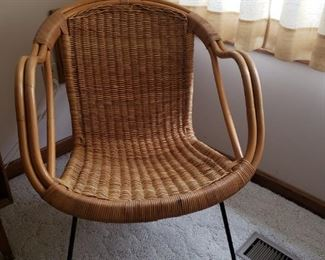 MCM wicker chair - so cool!