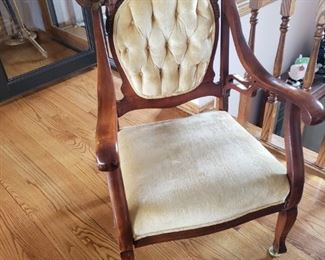Matching antique chair