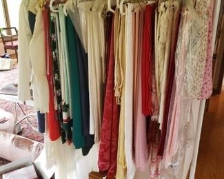 Table linens, clothing, clothing rack