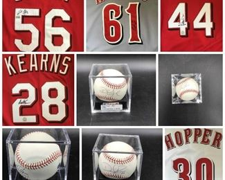 collage baseballs