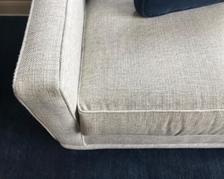 Detail of Lillian August Sectional