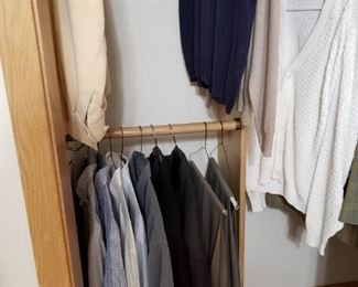 Men's and women's clothing