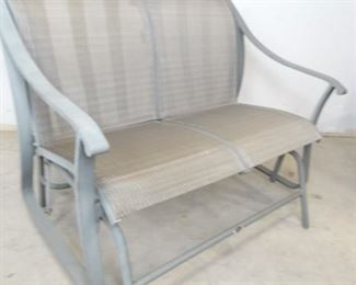 Aluminum Rocking Bench