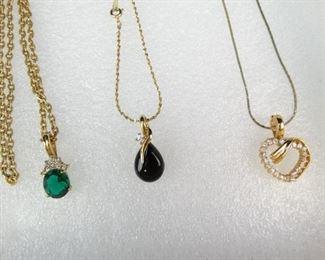Vintage Necklace Trio