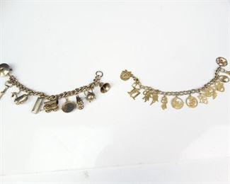 Fashion Charm and Angel Disc Bracelets