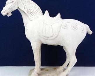 Plaster Horse Statue