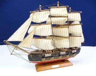 Vintage Wood, Brigantine Model