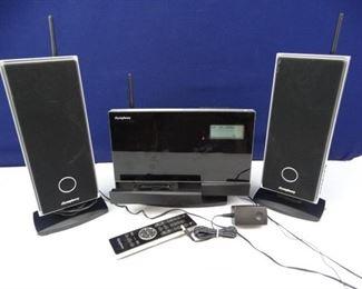 iSymphony Wireless Bookshelf Stereo System