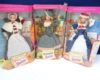 Special Edition, Vintage, American Stories Barbies