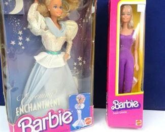 Vintage, Mattel Collectible Barbie Dolls c. 1980s
