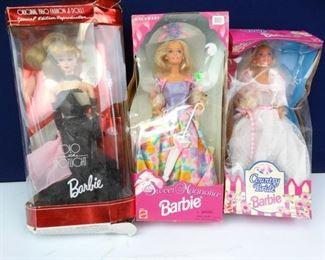 Vintage, Mattel, Special Edition Barbie Dolls